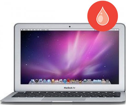 MacBook Air Water Damage Repair Diagnostic